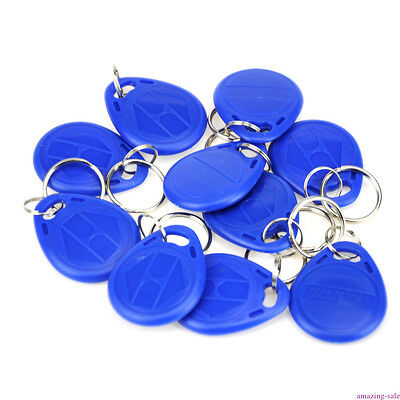 10pcs/Lot RFID Key-fobs 125KHz EM4100 Proximity ID Token Tag Key ID Keyfobs