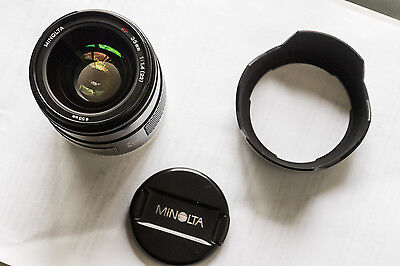 Minolta AF 35mm f/1.4 - legendary lens - excellent condition