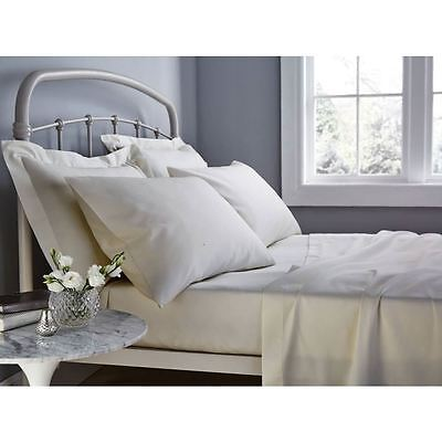 500 Thread Count Natural Single Fitted Sheet