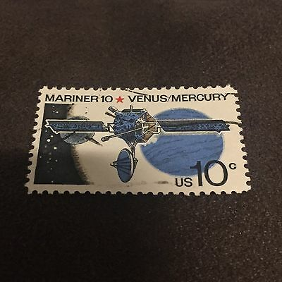 Mariner 10 Venus Mercury Stamp Space Probe  Satellite Astronomy