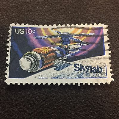 US Space Stamp Skylab Space Prove Satellite Astronomy