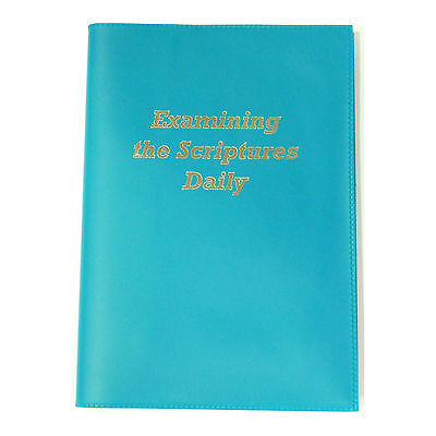Examining The Scriptures Coloured BookCover - Jehovahs Witnesses- TEAL - VESDTL