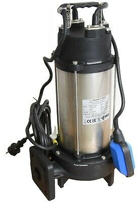 IBO Heavy Duty 1.8KW ULTIMATE GRINDER Submersible Sewage Dirty WATER PUMP 230V