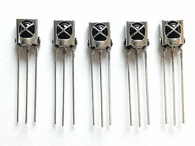5x Infrarot Empfänger | VS1838B | 5V | 38kHz | 940nm | IR, Infrared receiver