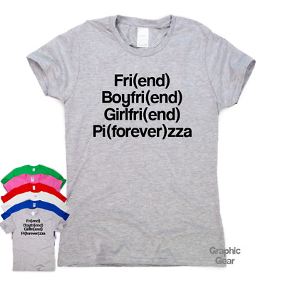 4a35b909c Pizza Is Forever - funny T shirt humour men gift womens sarcastic tee  slogan top