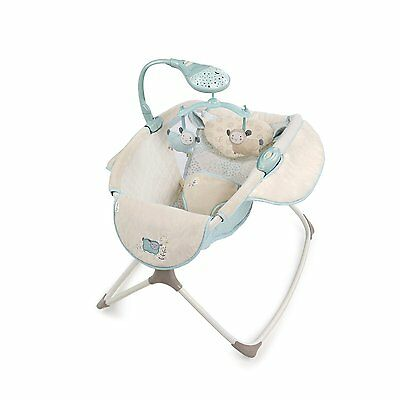 Rocking Baby Sleeper Bassinet Cradle Newborn Infant Crib Bed Nursery Basket Star