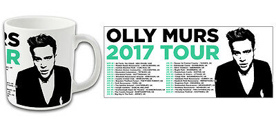 Pop Star Olly Murs 2017 Tour Printed Mug Top Quality Bargain Price