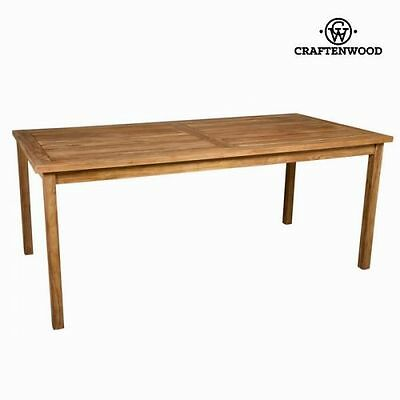 Table d'extérieur en teck naturel by Craften Wood