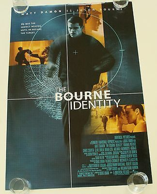 The Bourne Identity Ds Movie Poster One Sheet New Authentic