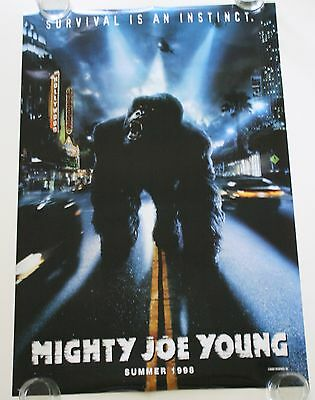 Mighty Joe Young Ds Movie Poster One Sheet New Authentic