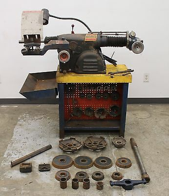 Really NICE Ammco 4100 Heavy Duty Disc & Drum Brake Lathe w/ Bench & Adapter Kit