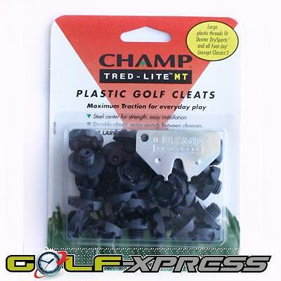 Champ - Tred-Lite MT Soft Golf Cleat - Large Thread - 1 Set + Key