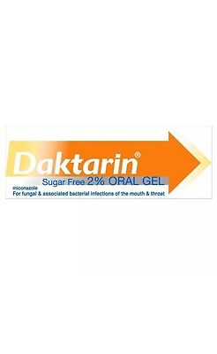 Daktarin oral gel 1 x 15g