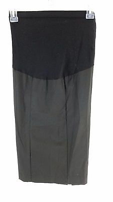 NWOT Motherhood Maternity Secret Fit Belly Pencil Skirt Black Size Small Career