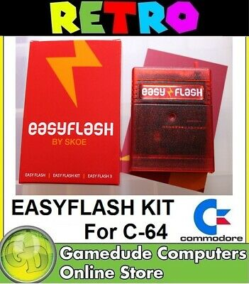 EasyFlash 64 Complete Cartridge Kit for Commodore C64 Soldering required [F03]