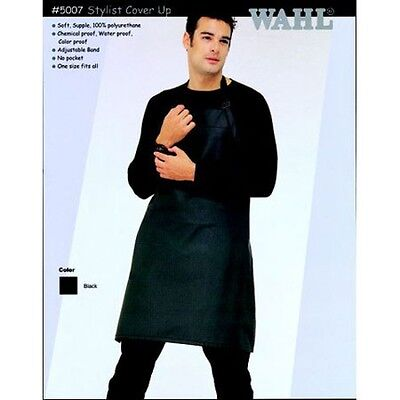 WAHL 5007 Polyurethane Stylist Cover Up Hairdressing Apron