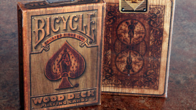 Bicycle Wood Playing Cards by Collectable Playing Cards - Kartenspiel
