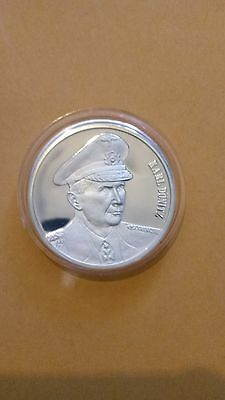 Karl Donitz .999 Silver Proof Coin