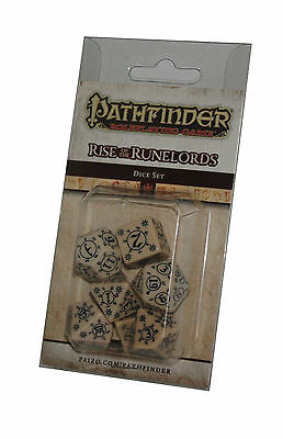 PATHFINDER-SET-DICE SET-Rise of the Runelords-W4,W6,W8,W10,W12,W20,W100-(00)