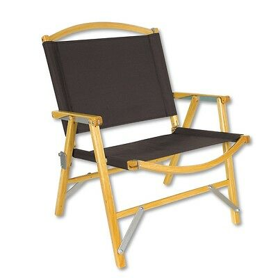 Kermit Chair Co. BLACK Camping Motorcyling Overland Chair - BRAND NEW