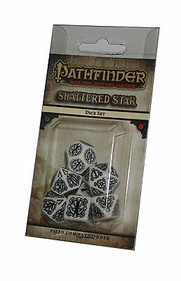 PATHFINDER-SET-DICE SET-Shattered Star-W4,W6,W8,W10,W12,W20,W100-(00)-neu-new