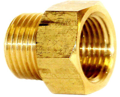 "1/2"" NPT Male x 1/2"" NPT Female Brass Adapter Fire Sprinkler Hex Head Extension"