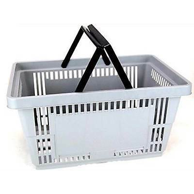 Plastic Grocery Store Shopping Baskets- Eco/environmentally Friendly-Holds 50Lbs
