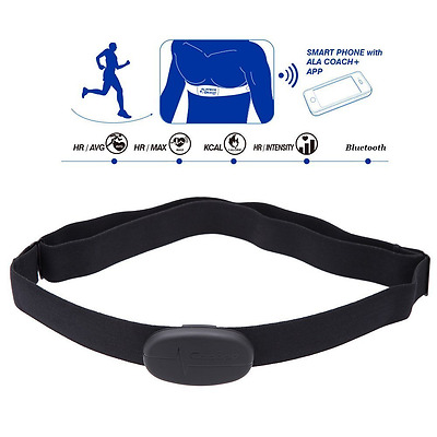 Wireless Heart Rate Monitor Soft Chest Strap for iPhone Android Smart Bluetooth