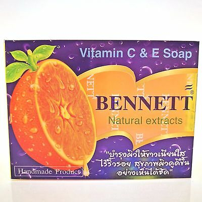 BENNET WHITENING NATURAL EXTRACTS ANTI ACE SOAP VITAMIN C&E 130g