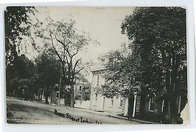 RPPC King Street NORTHUMBERLAND PA County Pennsylvania Real Photo Postcard