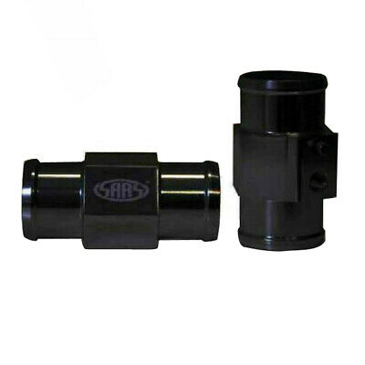 Saas Swta36B Water Temp Gauge Sender Radiator Hose Adaptor Black 36Mm 1/8 Npt
