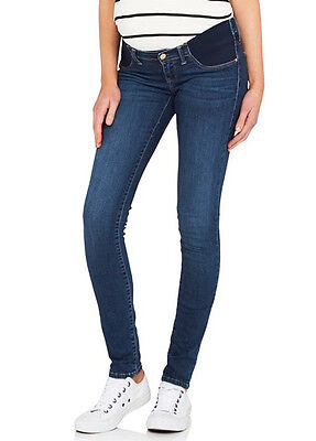 NEW - Mavi - Reina Mid Gold Reform Super Skinny Maternity Jeans
