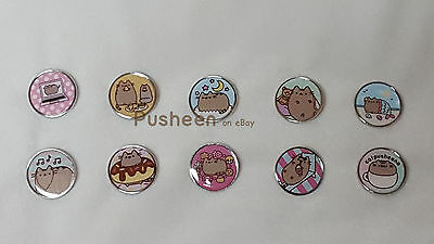 Pusheen Mystery Pins - Set of 10