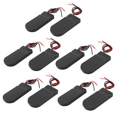 10 PCS ON/OFF Switch 2 x 3V CR2032 Cell Button Battery Holder for LED