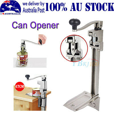 New Heavy Duty Large Commercial Can Opener Counter Bench Top Cast Steel Table MQ