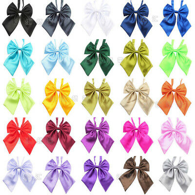 Wholesale Womens Ladies Girls Satin Novelty BIG Bow Tie Wedding Gift Butterfly