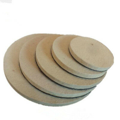 Felt Wool Polishing Buffing Wheel Discs Polishers Pad 2'' 3'' 4'' 5'' 6'' 7''