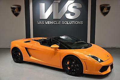 2012 Lamborghini GALLARDO LP 560-4 SPYDER HIGH SPEC Automatic Convertible