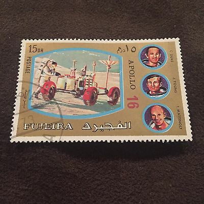 Fujeira Apollo 16 Stamp Duke Young Mattingly Space Mission