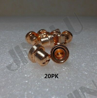 Tips Nozzle 20PK for longevity Plasma Cutter 30 / 40 /50 Amp