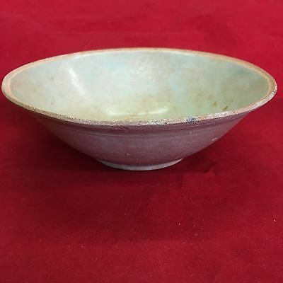 Antique Chinese Celedon Glaze Bowl Possibly Late Song Dynasty 15.5cm #5