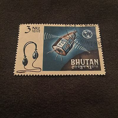 Bhutan Stamp 3NU Space Probe Space Ship