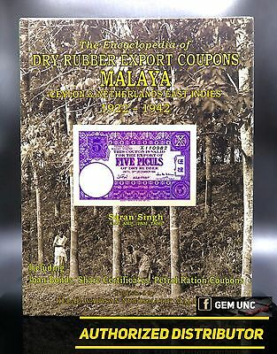 Autographed, Encyclopedia Of Malaya Dry Rubber Coupons By Saran Singh, Limited