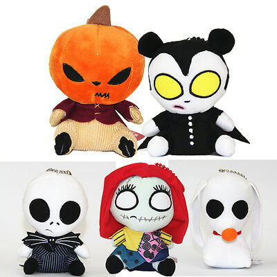 "16cm/6"" Jack Skellington The Nightmare Before Christmas Barrel Plush Toy Dolls"