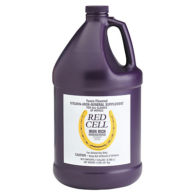 Farnam RED CELL Iron Rich Vitamin Supplement For Horses 3.8 Litre