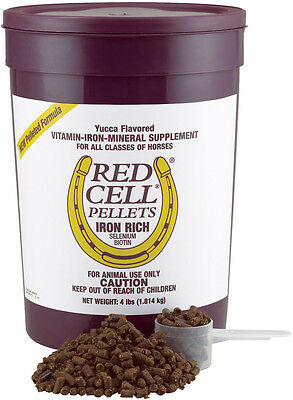 Farnam RED CELL PELLETS Iron Rich Vitamin Supplement For Horses 1.8kg