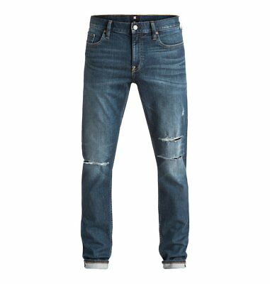 DC Shoes™ Medium Stone Destroyed - Slim Fit Jeans - Vaqueros Pitillo - Hombre