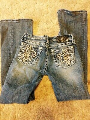 Miss Me girls boot cut jeans, size 14