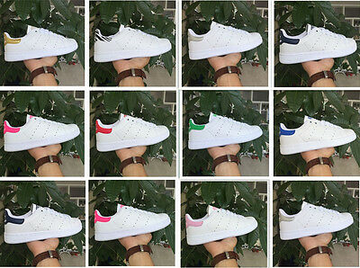 Women's Ladies Striped Sport Running Sneakers POP Star Trainers Shoes 34Color