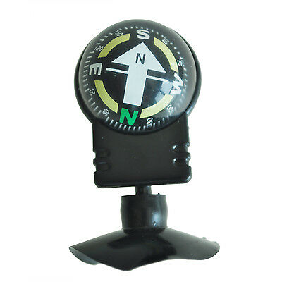 Compass Dashboard Dash Mount Navigation Car Boat Truck Suction Black